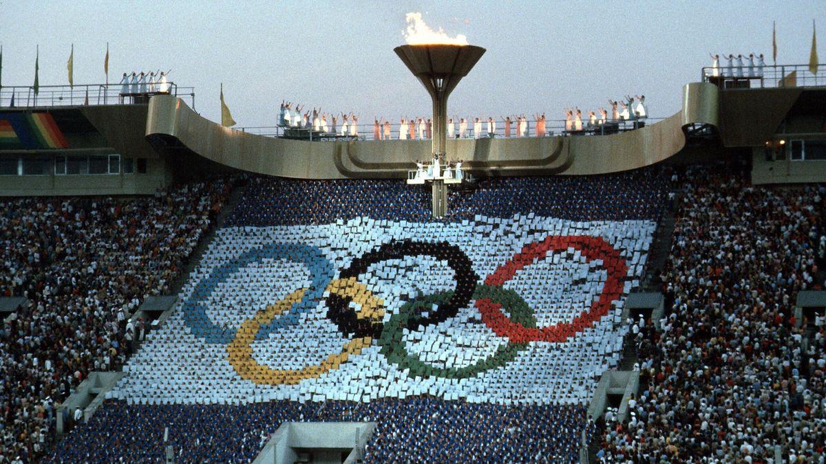 Eröffnungsfeier der Olympischen Spiele 1980 in Moskau