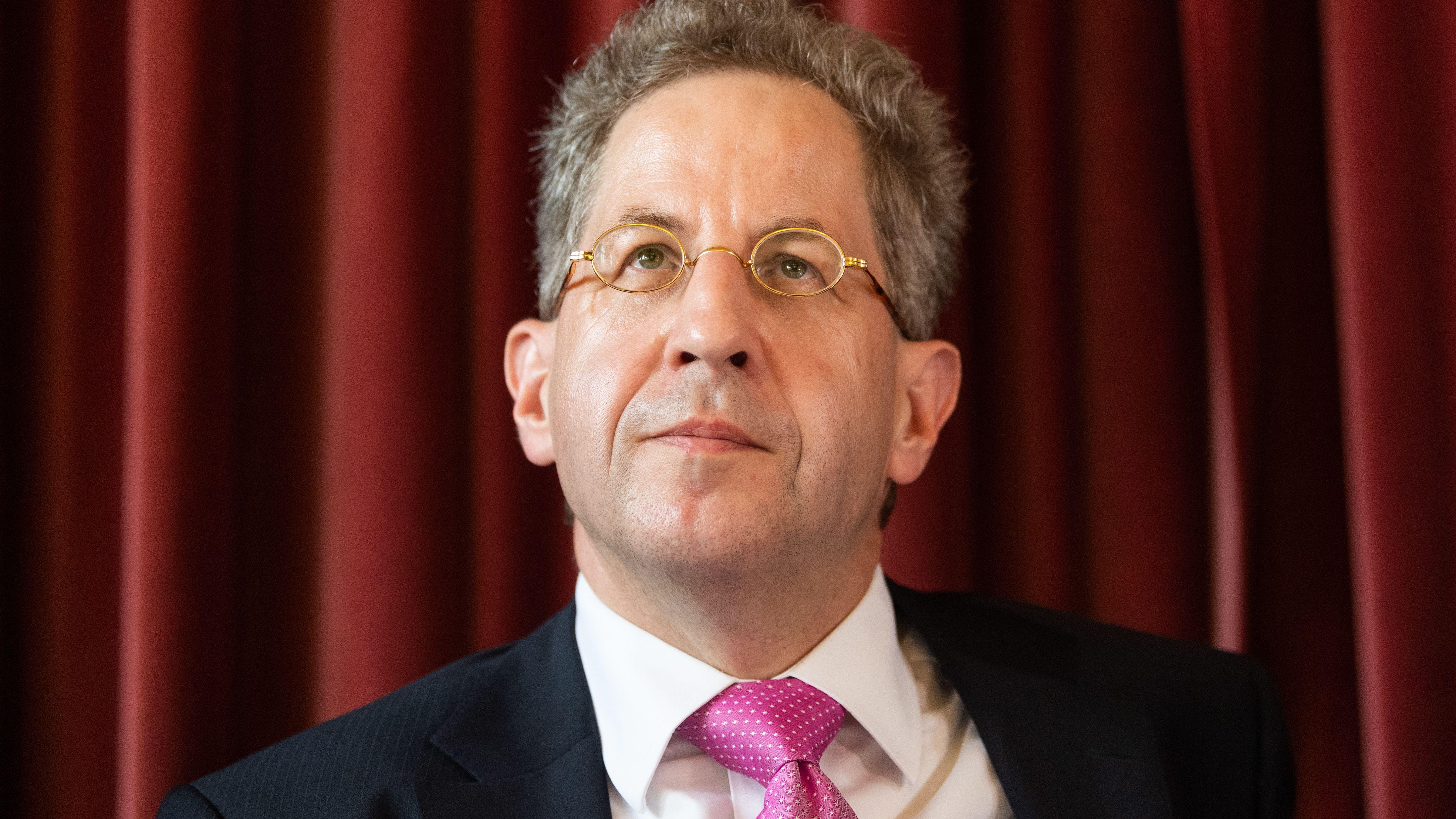 Hans-Georg Maaßen, Ex-Verfassungsschutzchef, bei einer Wahlkampfveranstaltung der CDU am 1.8.2019 in Radebeul (Sachsen)