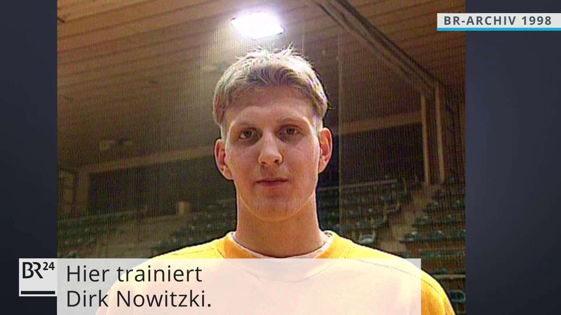 Der junge Dirk Nowitzki vor seinem Wechsel zu den Dallas Mavericks