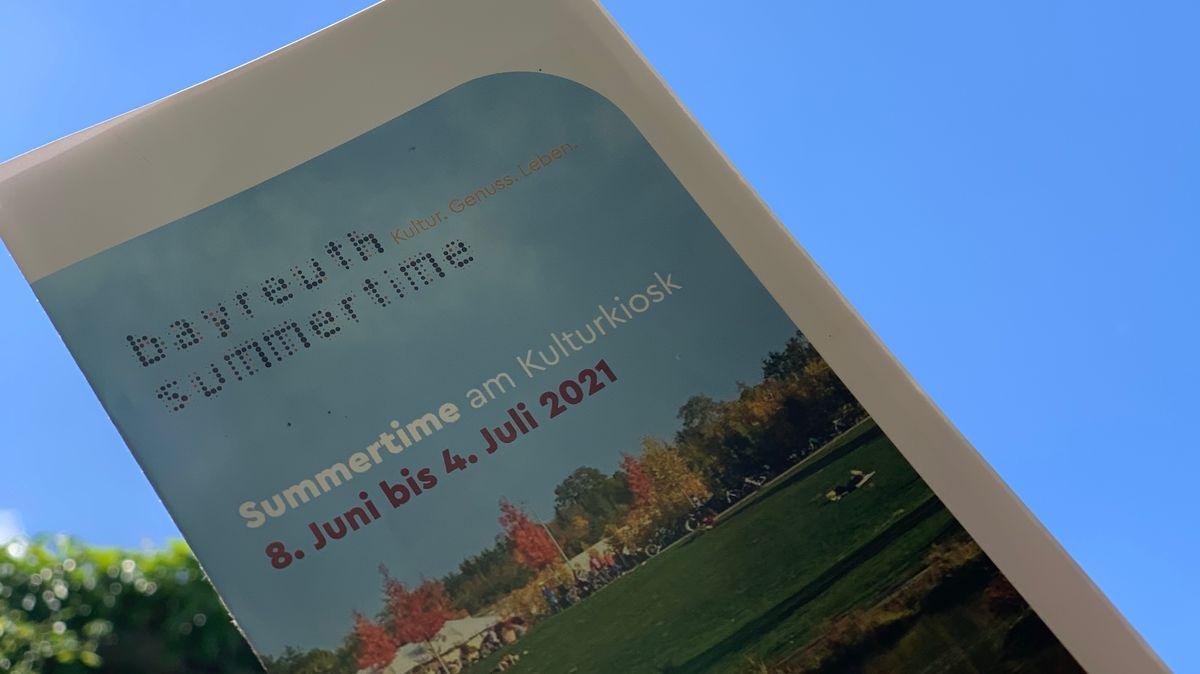 """Der Flyer von """"Bayreuth Summertime""""."""
