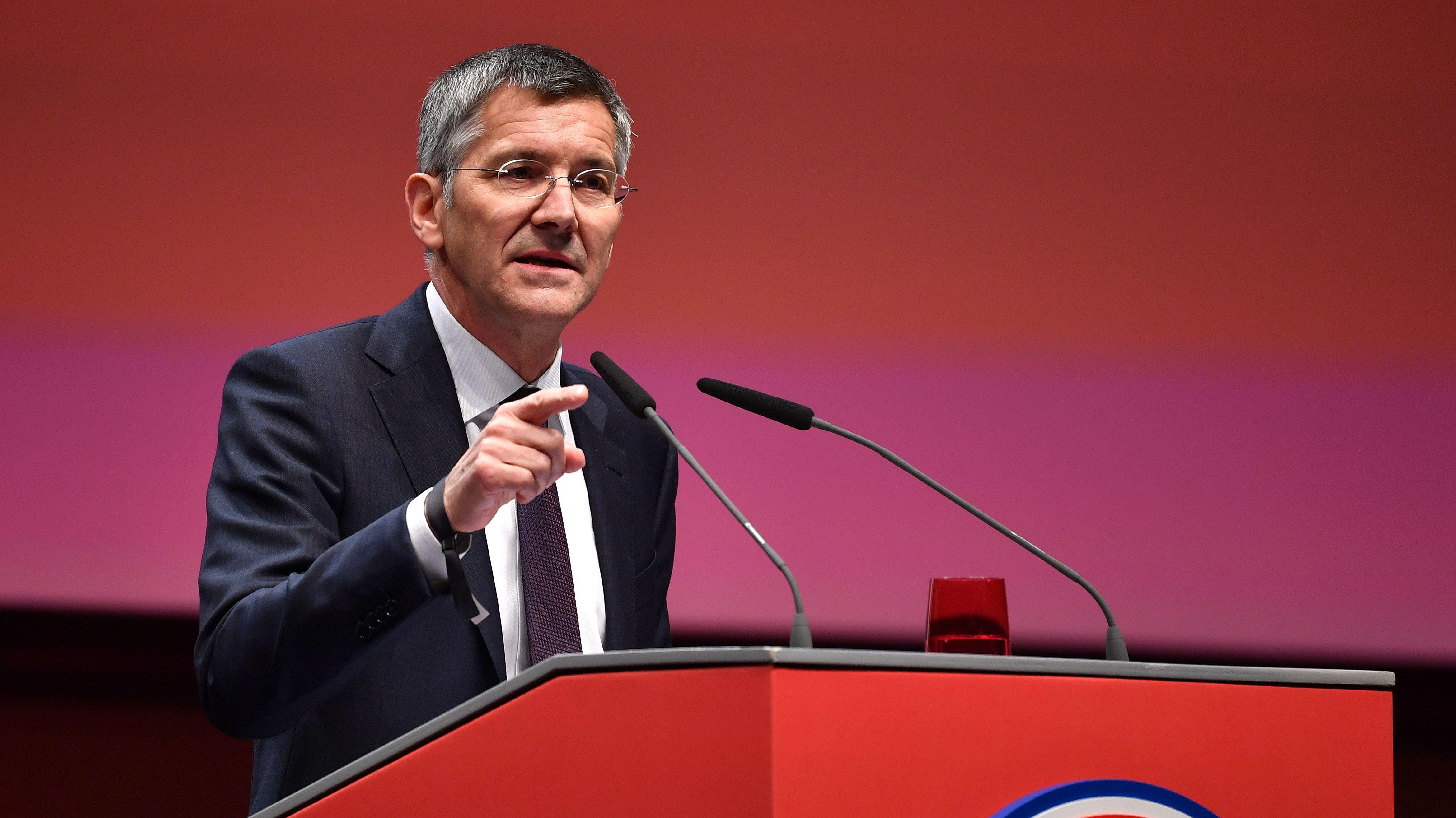 Der neue FC-Bayern-Präsident Herbert Hainer