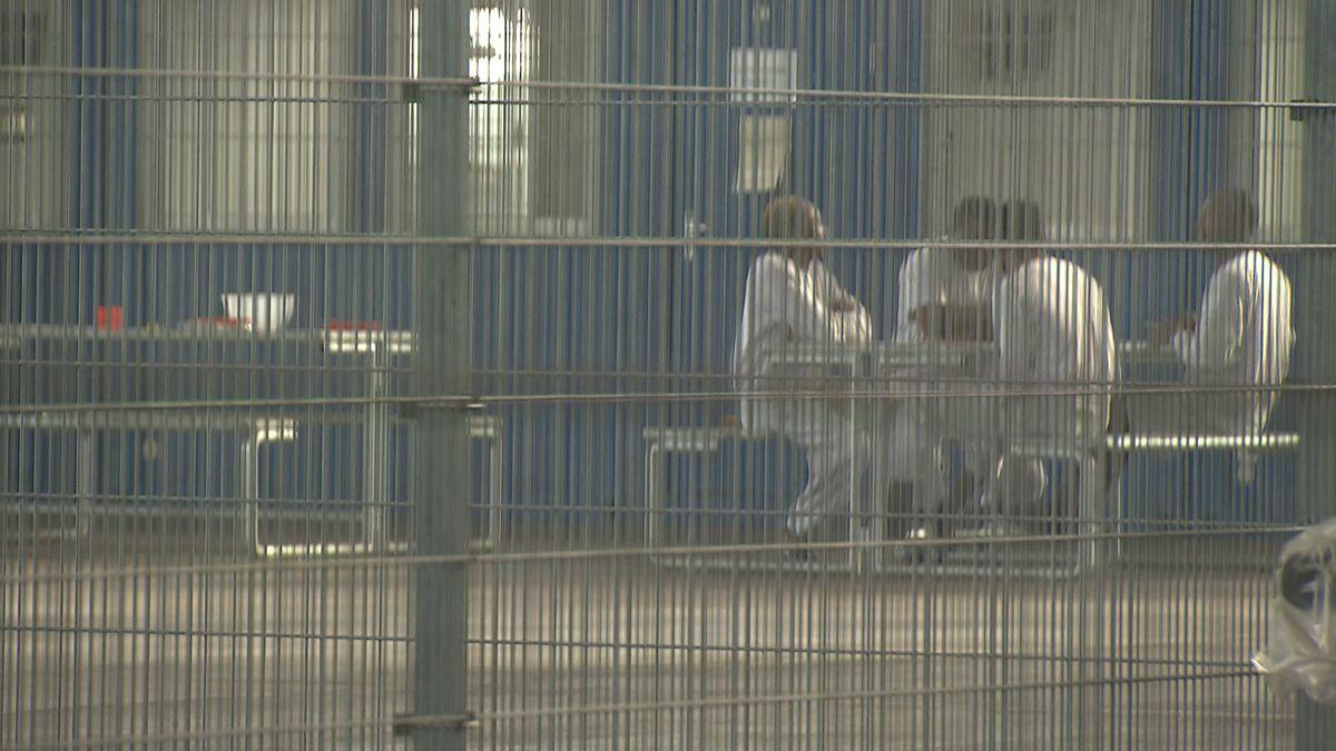 Abschiebehäftlinge am Münchner Flughafen