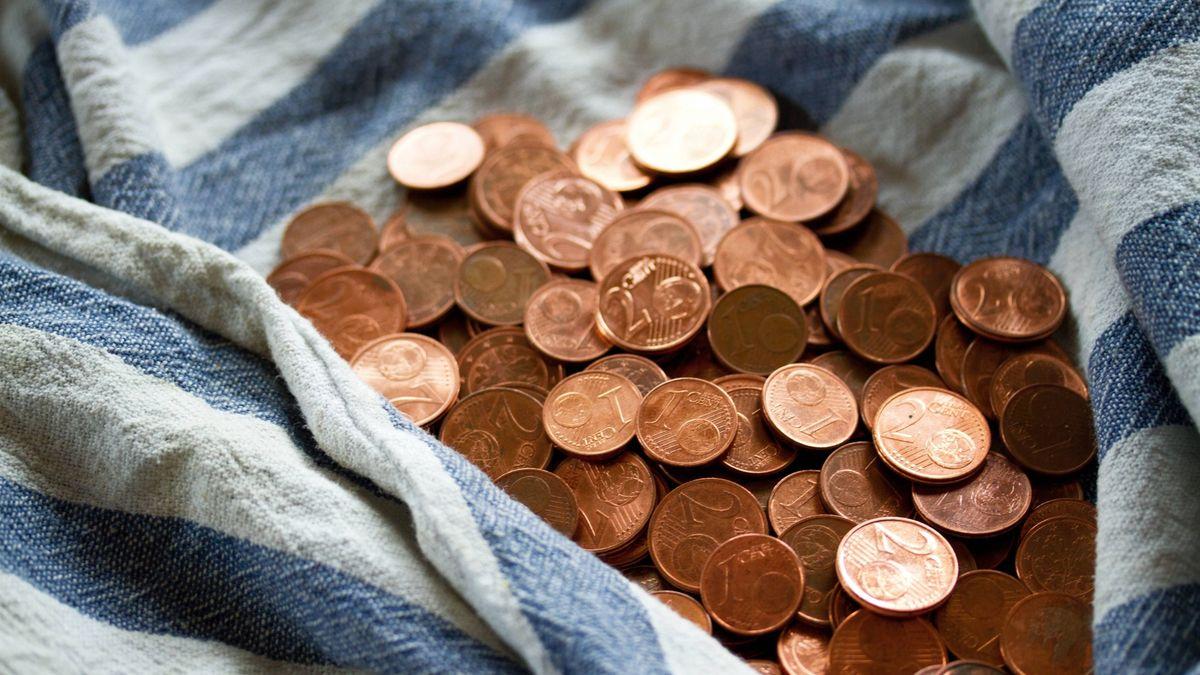 Symbolbild: Geld in einem Tuch
