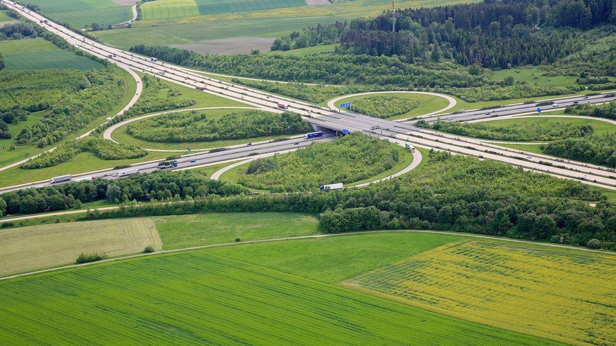 Autobahnkreuz Feuchtwangen-Crailsheim