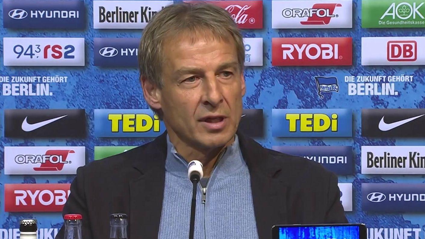Trainer Jürgen Klinsmann