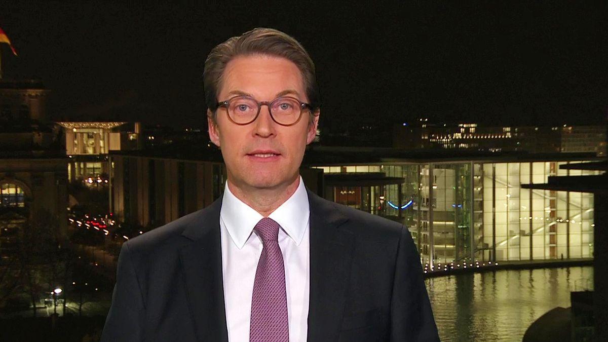 Bundesverkehrsminister Andreas Scheuer im Kontrovers-Interview