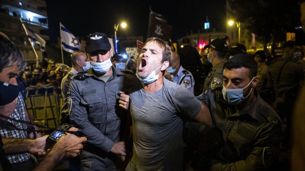 Anti-Netanyahu-Proteste in Israel