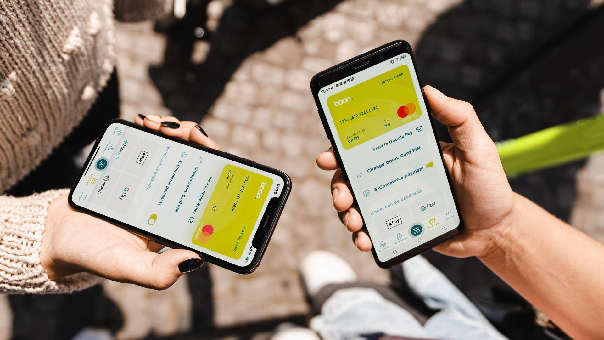"""Die virtuelle Prepaid Mastercard """"boon"""" von Wirecard"""