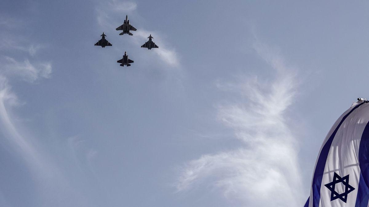 Deutsche und israelische Kampfjets überfliegen gemeinsam Jerusalem