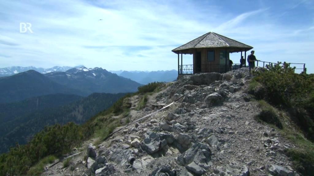Verschwundene Berg-Antenne : Die Funkstation auf dem Herzogstand