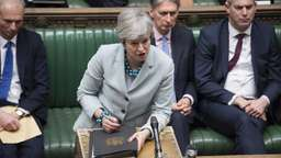 Premierministerin May gibt Statement im Britischen Parlament ab | Bild:picture alliance / Xinhua News Agency
