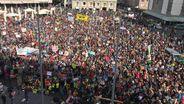 Klima-Protest In Augsburg | Bild:Andreas Herz / BR