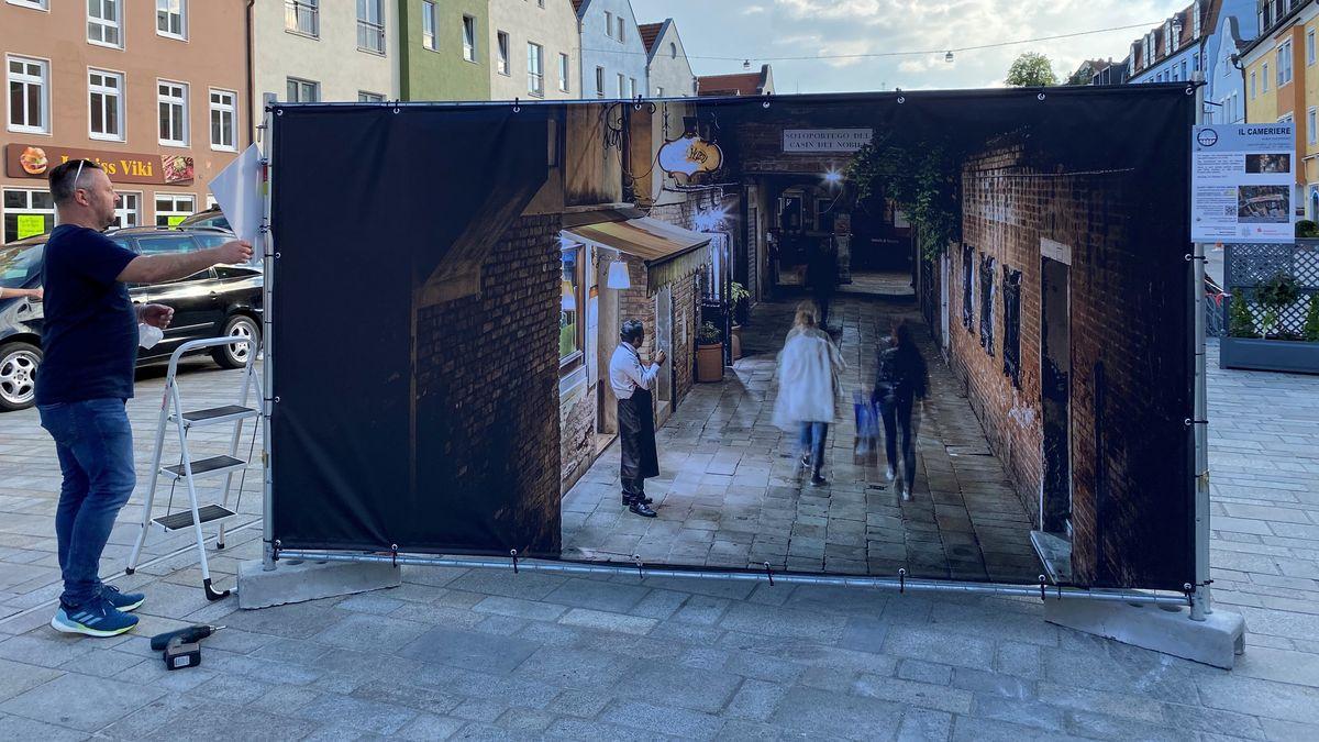 30 Fotos von 14 Künstlern werden in der Dingolfinger Innenstadt ausgestellt.
