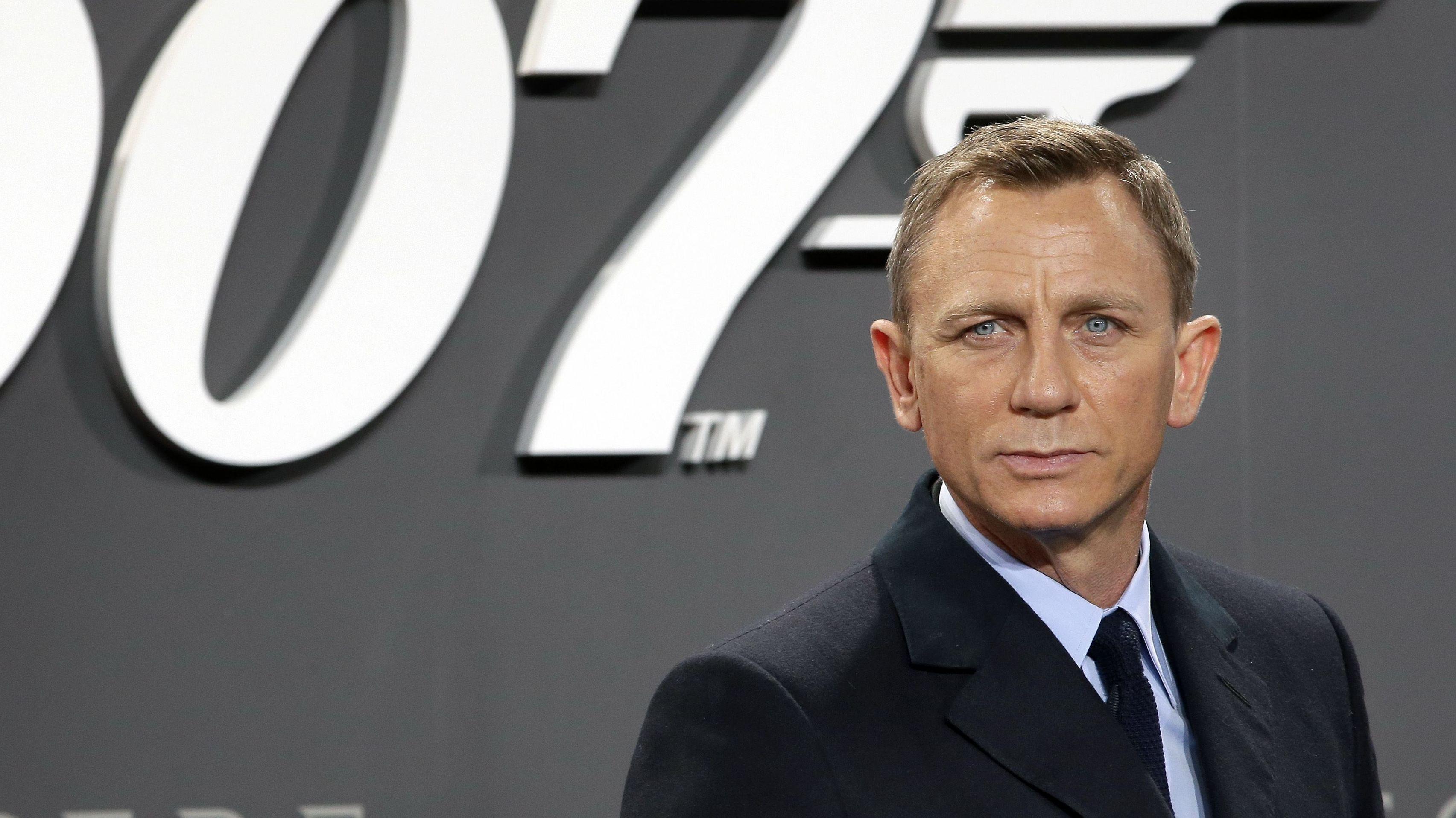 """Daniel Craig bei der Deutschland-Premiere von """"Spectre"""" 2015"""
