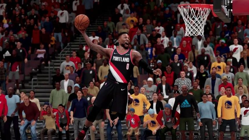 "Spielszene aus ""NBA2K21"""