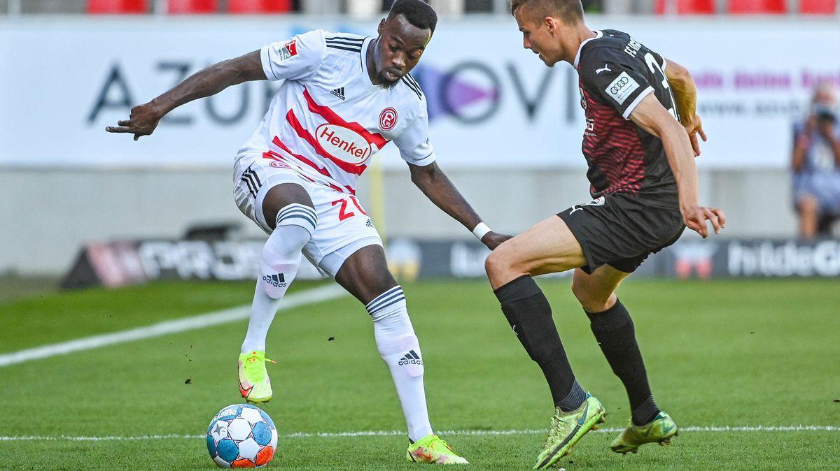 Spielszene FC Ingolstadt 04 - Fortuna Düsseldorf
