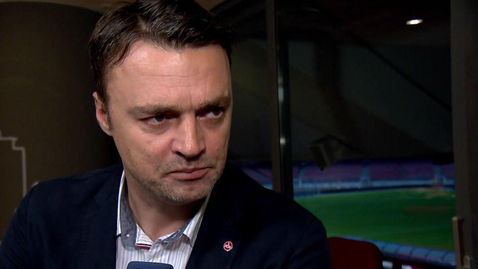 Die Schlinge ziehr sich zu für den FC Nürnberg: Sportvorstand Robert Palikuca im Interview