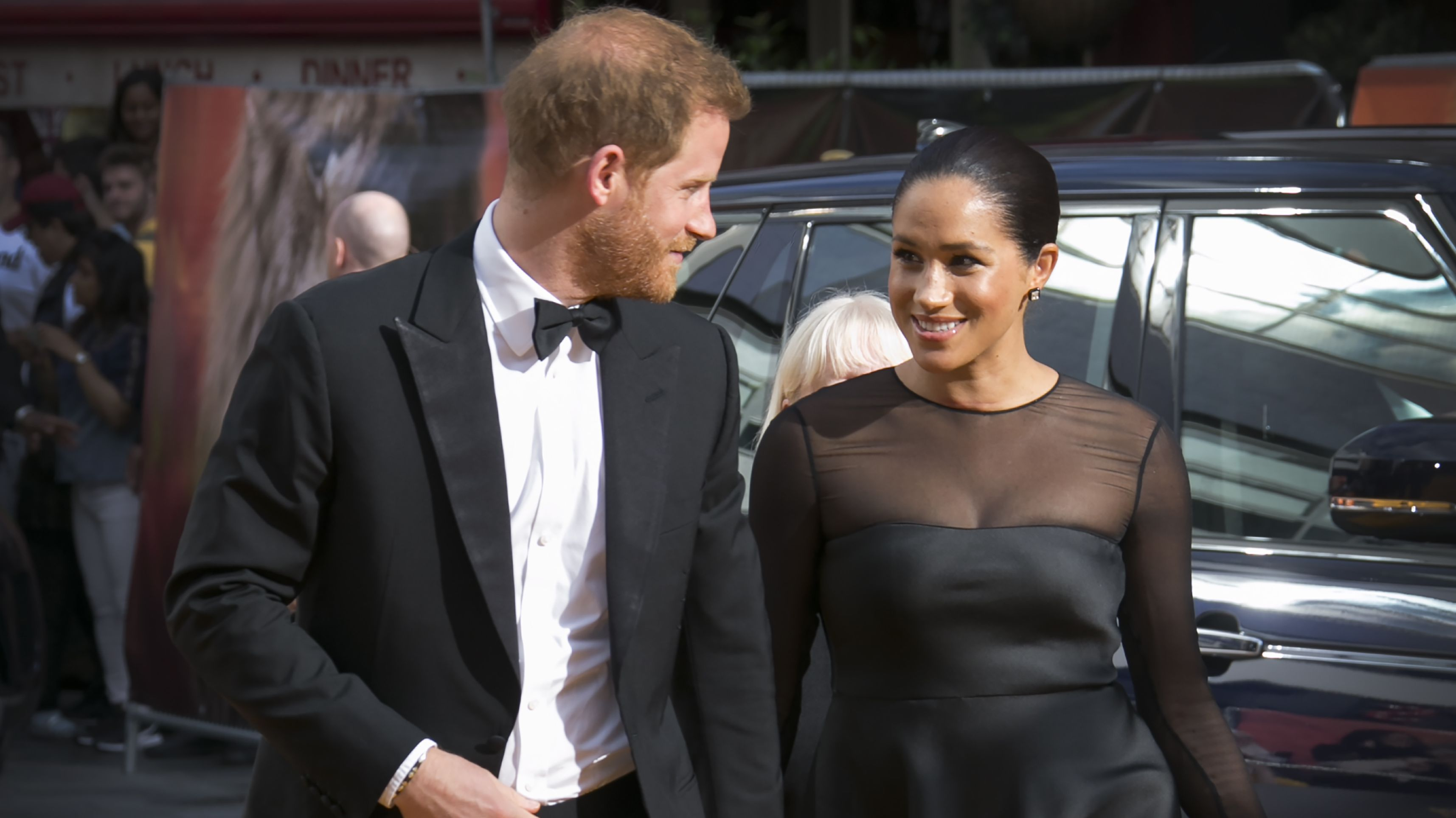 """Prinz Harry und Herzogin Meghan bei der Europa-Premiere von """"König der Löwen"""" in London"""