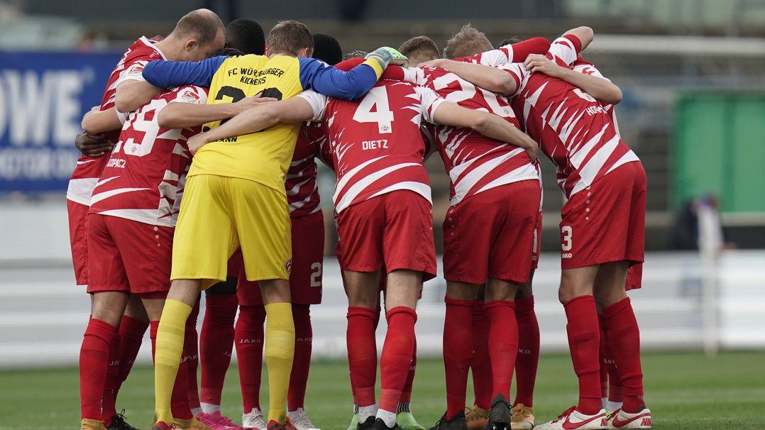 Mannschaft der Würzburger Kickers