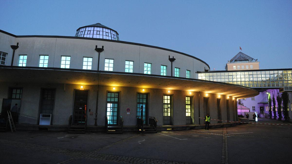 Das Gelände des Postpalastes in München.