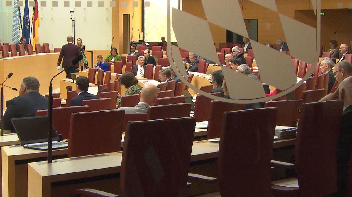 Nachtragshaushalt-Lesung im Landtag