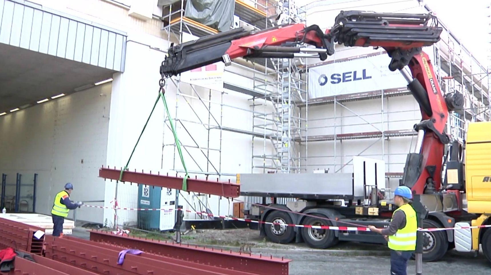 Umbau der Kulmbacher Spinnerei