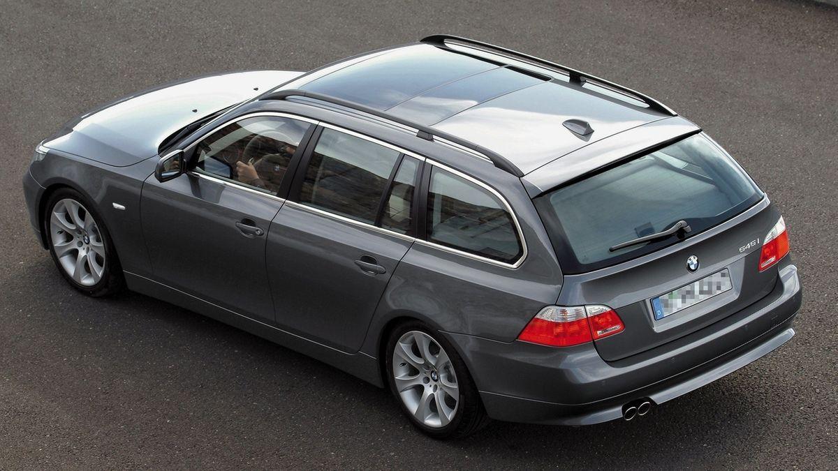 Ein BMW 5er Touring (Symbolbild).