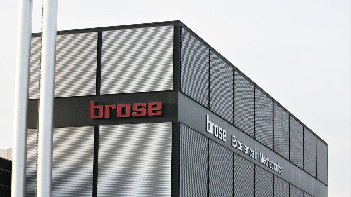 Außenansicht des Brose Firmensitzes in Coburg.