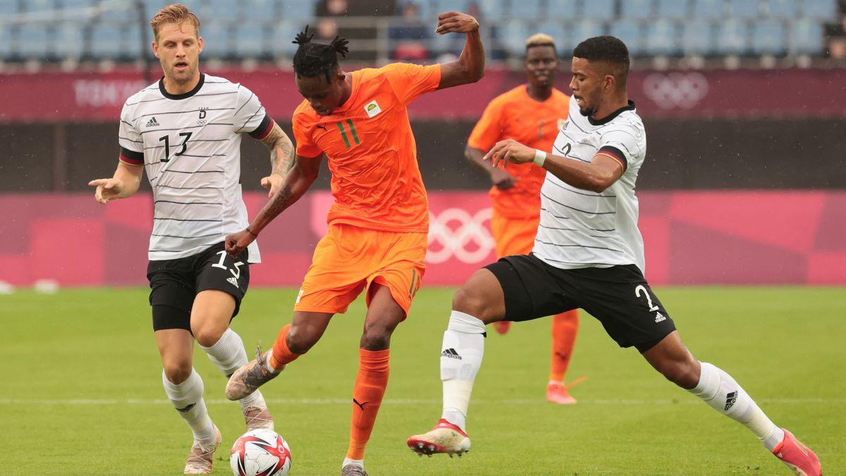 Spielszene Deutschland - Elfenbeinküste