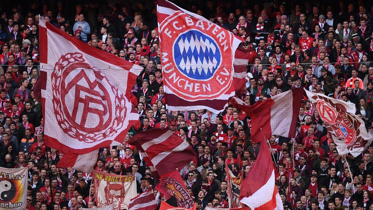 Fußballfans in der Münchner Arena (Archivbild)
