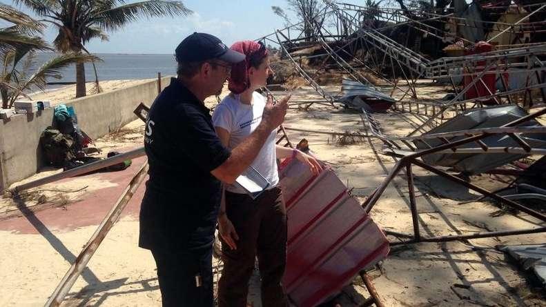 In Beira hat der Zyklon gewütet
