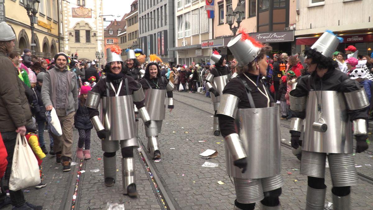 Faschingszug in Würzburg