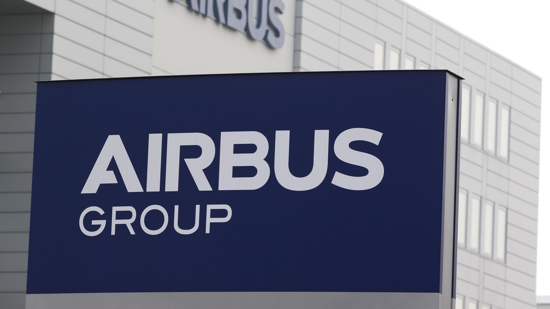 Airbus-Schriftzug
