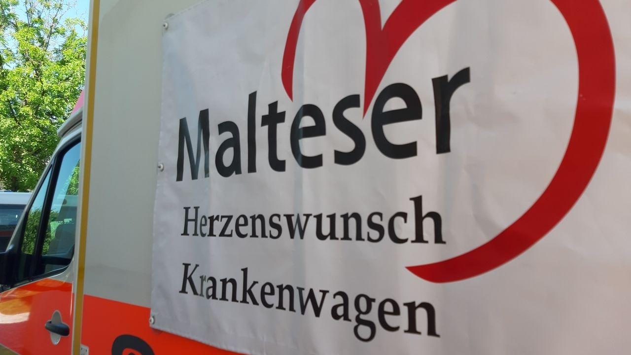 Malteser Herzenswunsch-Krankenwagen