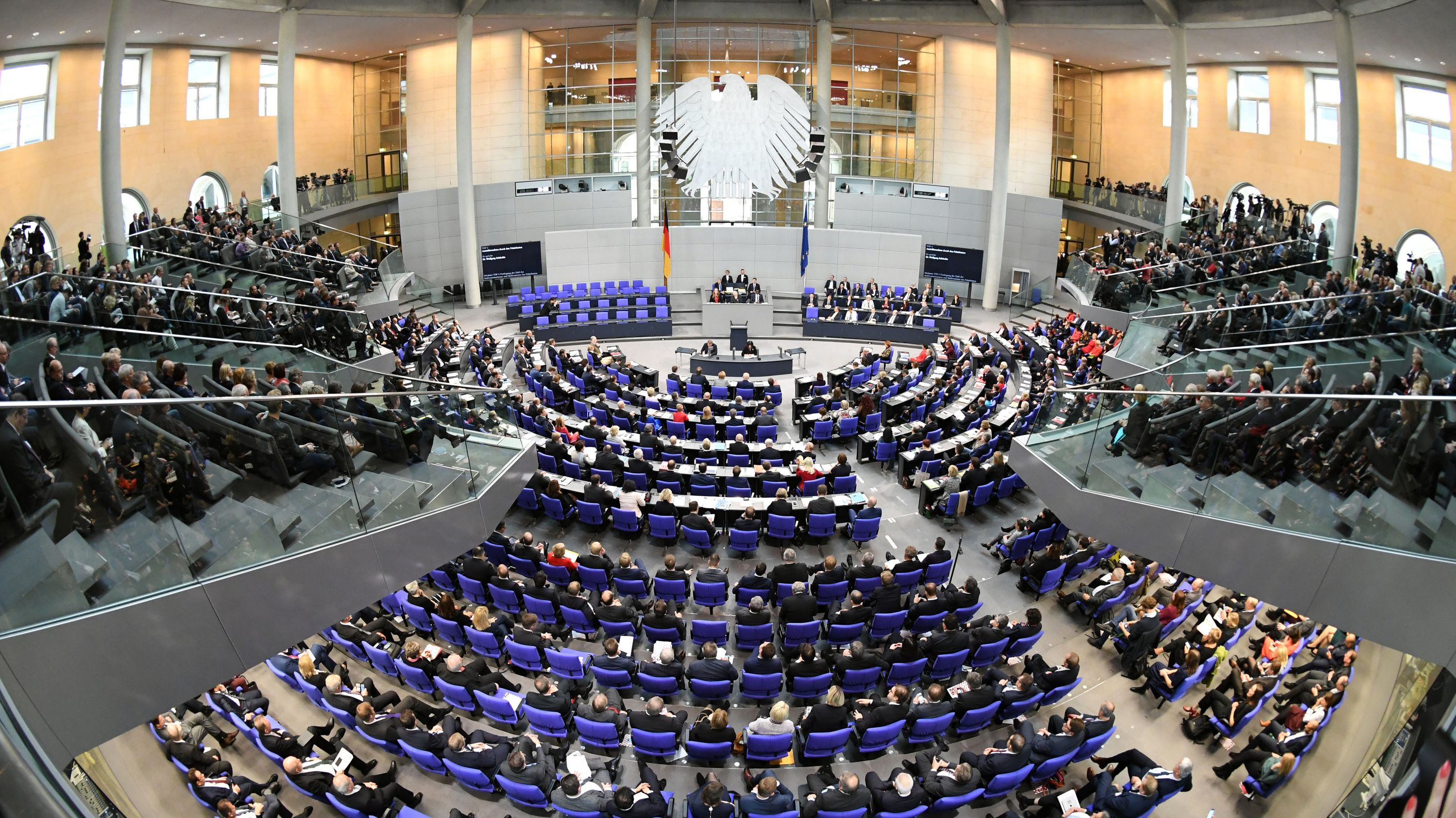 Im Bundestag (Archivbild 2017)