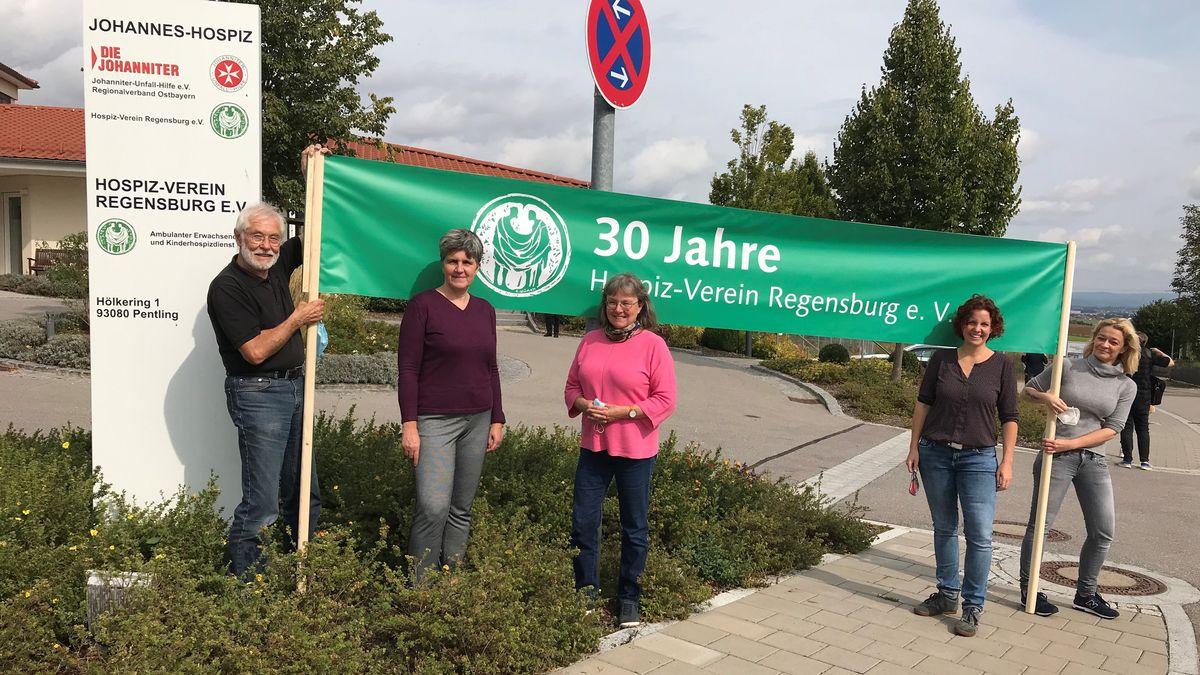 Das Team des Hospiz-Verein Regensburg