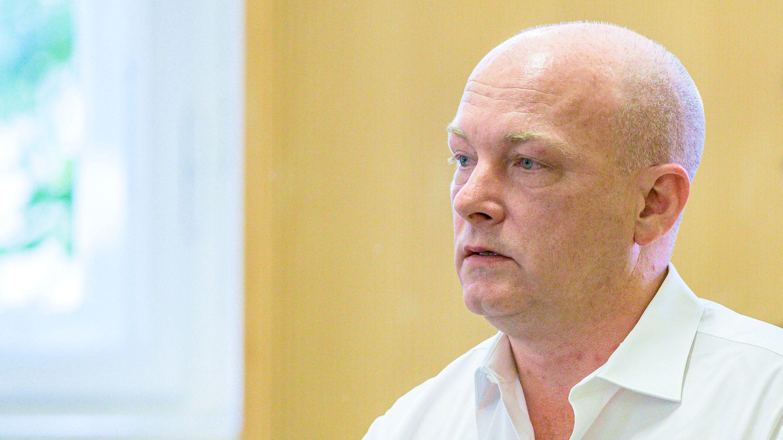 Regensburgs suspendierter OB Joachim Wolbergs im Gerichtssaal