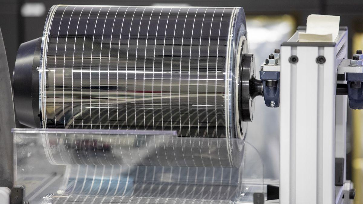 Symbolbild: Photovoltaik-Komponenten