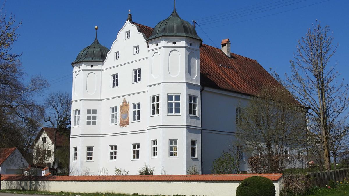 Das Schloss Rudolfshausen in Holzhausen