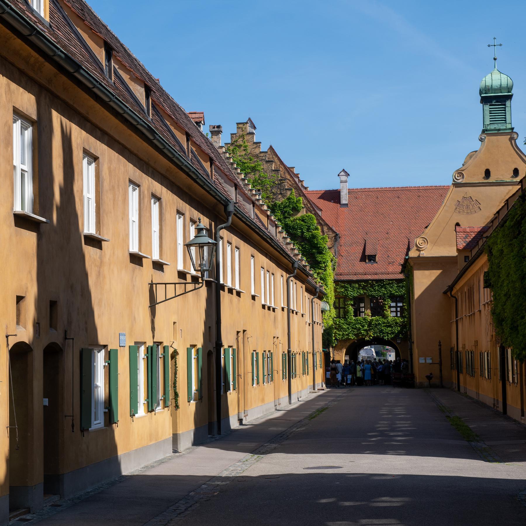 Die Fuggerei in Augsburg - Die älteste Sozialsiedlung der Welt
