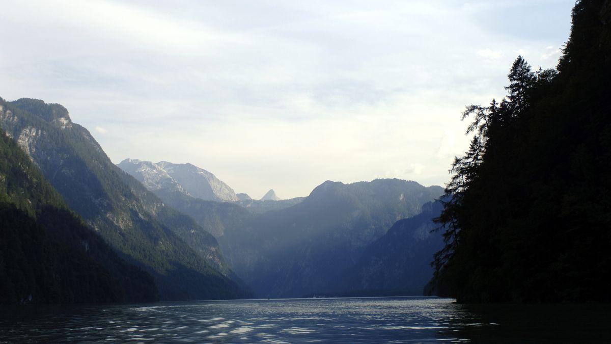 Der Königssee bei Berchtesgaden