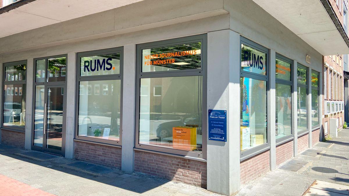 Das RUMS Büro in Münster