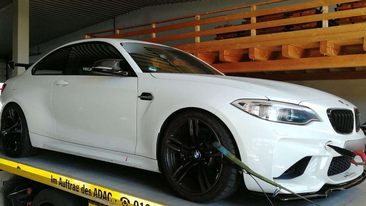 Einer der sichergestellten BMW