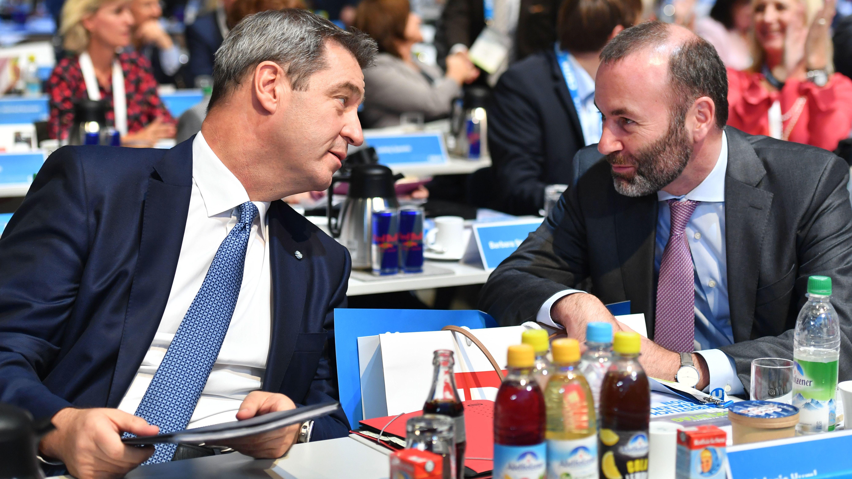 CSU-Vize Weber will auch weiterhin ohne Rücksprache mit Parteichef Söder seine Meinung sagen