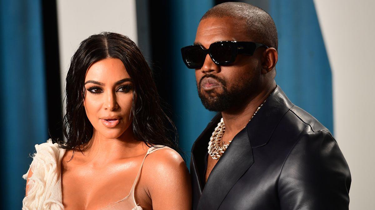 Kim Kardashian und ihr Mann, der Rapper Kanye West. Sie wäre im Falle seiner Wahl zum US-Präsidenten die neue First Lady.