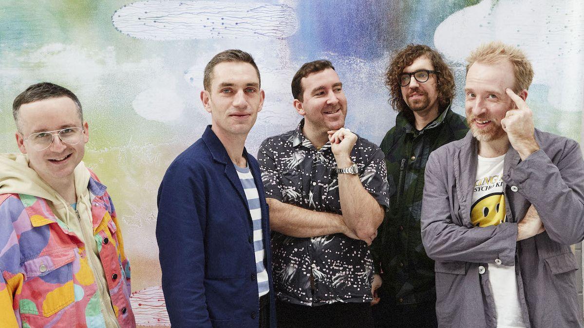 Die Londoner Band Hot Chip