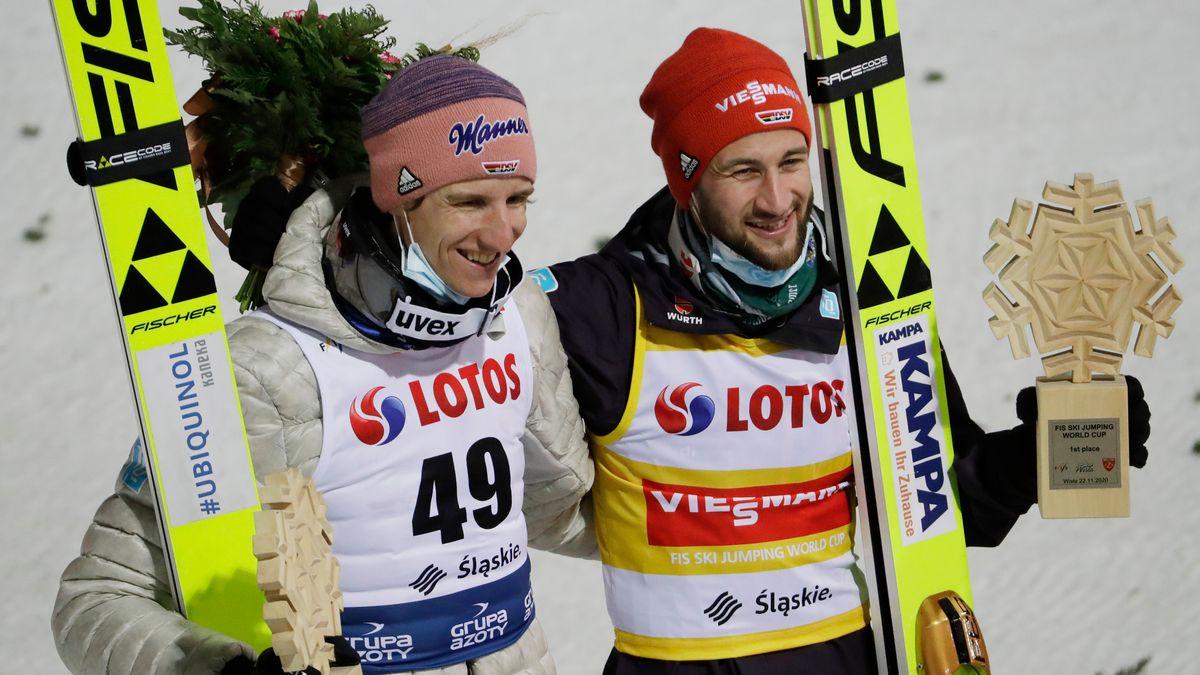 Karl Geiger und Markus Eisenbichler