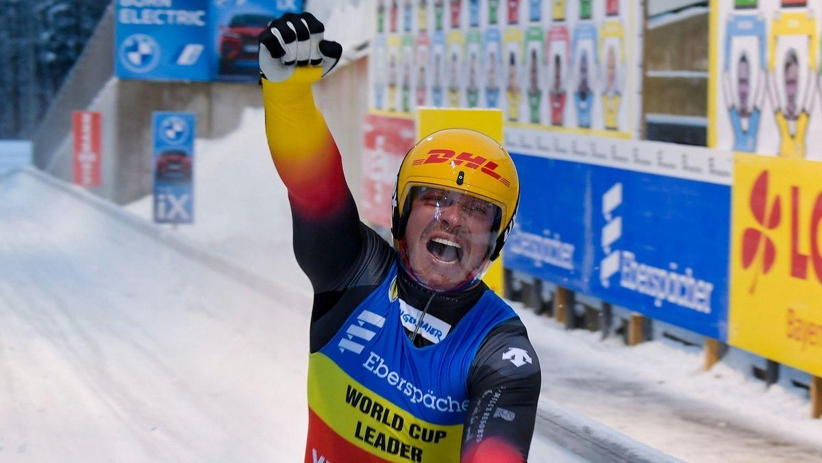 Felix Loch ist Rodel-Europameister