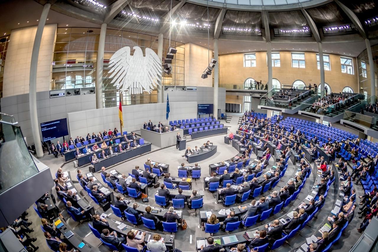 Bundestag-Plenum