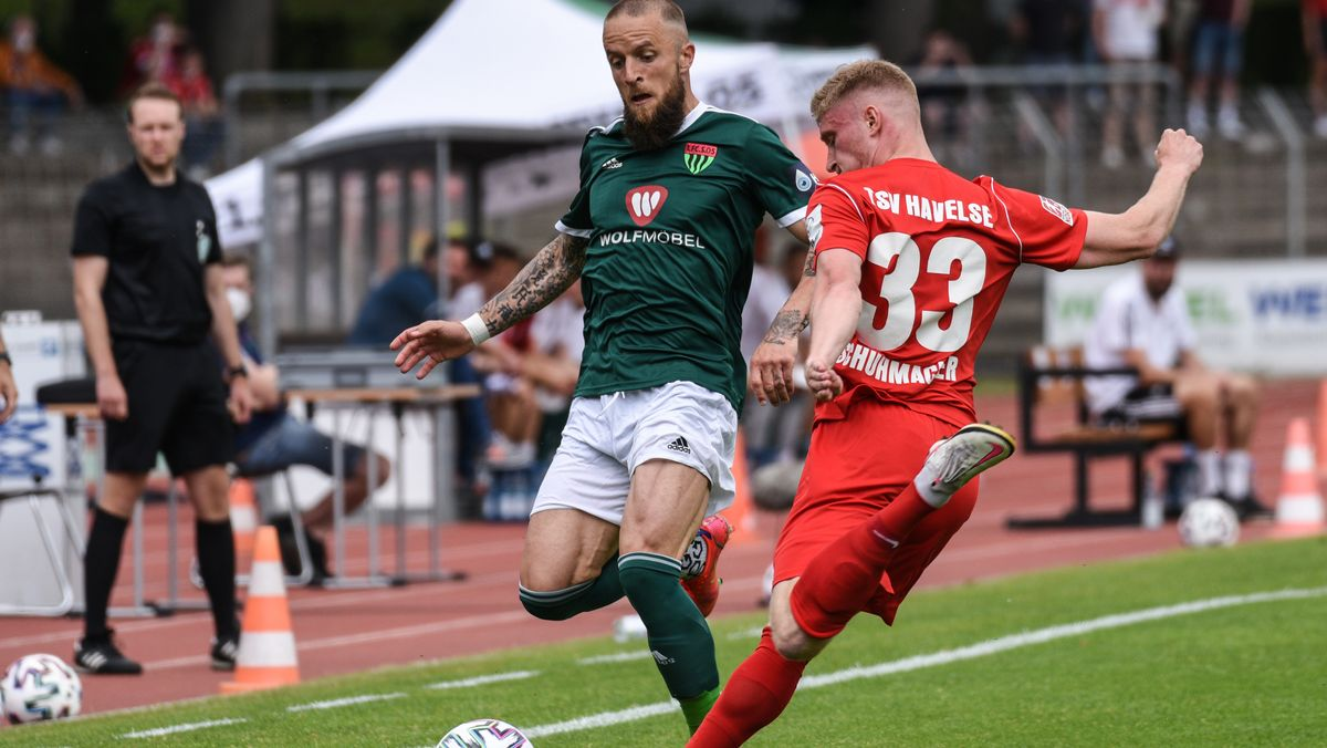 Fussball, 3.Liga Relegation - 1. FC Schweinfurt 05 vs. TSV Havelse